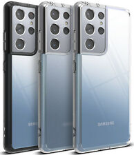 For Samsung Galaxy S21 Ultra [FUSION] [FUSION Design] Ringke Case Protect Clear