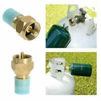 Propane Refill Adapter Lp Gas 1 Lb Cylinder Tank Coupler Brass Heater A1K1