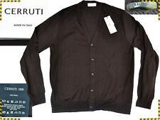 CERRUTI Strickjacke Herren XL Made In Italy  ZUM VERKAUFSPREIS! CE04 T1G