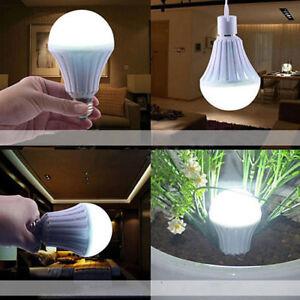 1X Smart LED E27 5W 7W 9W 12W Emergency Light Bulb Rechargeable Intelligent Lamp