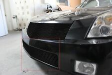 GTG 2004 - 2009 Cadillac XLR 1PC Gloss Black Bumper Billet Grille Grill Insert