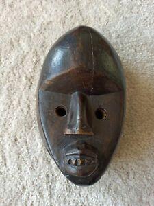Ancien masque africain ethnique art premier primitif