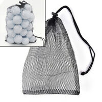 Nylon Mesh Nets Bag Pouch Golf Balls Table Tennis Hold Ball Holder Storage BagVo