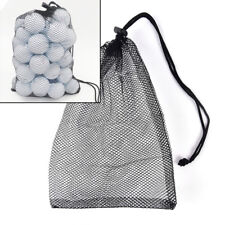 Nylon Mesh Nets Bag Pouch Golf Balls Table Tennis Hold Balls Holder Storage  O
