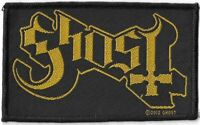 Official Licensed Merch Woven Sew-on PATCH Heavy Metal Rock GHOST Logo