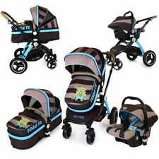 i-Safe System - i DiD iT Trio Travel System Pram & Luxury Stroller 3 in 1 Comple