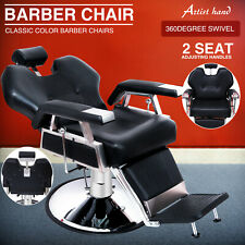 More details for  heavy duty hydraulic barber chair recline 360 degree swiveling adjustable