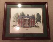 "Phil Ponder Carnton Civil War Landmark, Signed 125/500 26-1/2""W x 22-1/2""H x ¾""D"