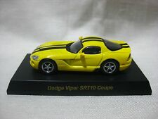 1:64 Kyosho Dodge Viper SRT10 Coupe Yellow Diecast Model Car