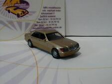 Herpa 038775 # Mercedes-Benz S-Klasse V12 (W140) Baujahr 1991 braun met. 1:87