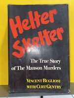 Helter Skelter-Vincent Bugliosi-First Edition/2nd Printing-Manson-RARE!!       G