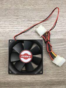 Antec PC Case Cooling Fan 80*80*25mm 2 pin molex power connector