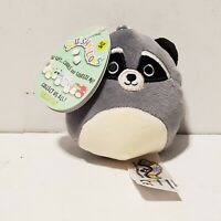 Squishmallows Randy Raccoon Clip-on Dangler Plush Soft Toy KellyToy NY Toy Fair