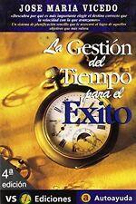 USED (GD) La gestión del tiempo para el éxito (Autoayuda / Self-Help) (Spanish E