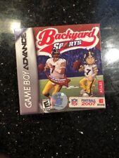 Backyard Football 2007 GBA Game Boy Advance Brand New factory sealed