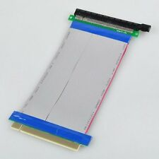 PCI-Express PCI-E 16X Riser Card Ribbon Extender Extension 20cm Cable LW SZUS