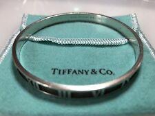 TIFFANY & CO. ATLAS Sterling Silver 925 Cuff Bangle / Bracelet