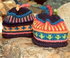 Color Me Bright (Child) - Cabin Fever Knitting Pattern #108 - Baby & Child Hat