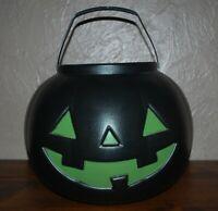 "General Foam Halloween Blow Mold Extra Large 18"" Pumpkin Jack-o-Lantern Cauldron"