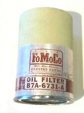 1957 Ford NOS original oem oil filter Fairlane Sunliner Custom Ranchero FoMoCo