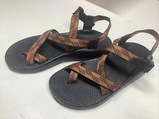 Chaco Men's Classic Orange Strap Sport Vibram Sole Sandals Size M10 Made in USA