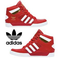 Adidas Originals Hardcourt Sneakers Men's Casual Shoes Running Red White Gold