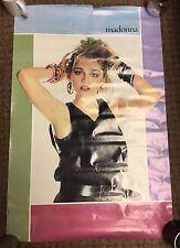 "Madonna 1984 Promo Poster Rock Pop New Wave Like A Virgin Borderline 23"" x 34"""