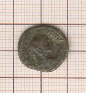 Denier Roman Counterfeit Period Vintage Copper Silver