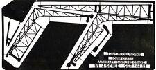 Tom's Modelworks #144-11 1/144 US Iowa Class Aircraft Handling Crane set