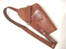 WWII US Army M3 Leather Shoulder Holster Colt M1911 45acp - Reproduction