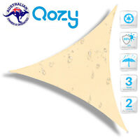 Waterproof Triangle Shade Sail 4X4X4M Sand Beige sun canopy umbrella outdoor