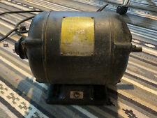 1 HP 3450 RPM Vintage Craftsman Capacitor Dual Shaft Motor 115/230 volt