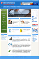 INTERNET MARKETING GUIDE - Professionally Designed Affiliate Website