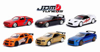 6 Cars Miniature Collection JDM Tuners Wave 5 1:64 Jada Toys Figure Art Original
