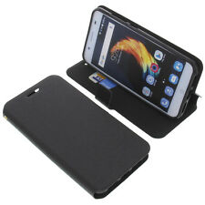 Case for ZTE Blade A2 plus Book - Style Protective Case Gadget Book Black