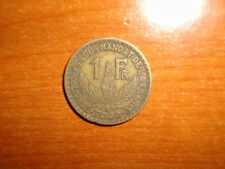 Togo 1924 Franc coin Very Fine nice