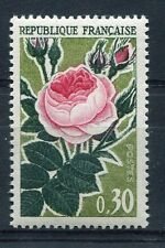 FRANCE - 1962, timbre 1357, FLEURS, ROSE, neuf**