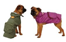 Monkey Bus Stowaway Rain Jackets for Dogs - S - S/M - Easy fit style