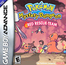 Pokemon Mystery Dungeon: Red Rescue Team (Nintendo Game Boy Advance, 2006)