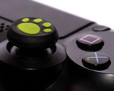 2 X VERDE zampa Joystick Thumbstick Tappi Cap per Sony ps4 ps3 xbox controller