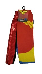 Wonder Woman Socks Superhero Knee High Cape Socks Halloween Costume cosplay NEW