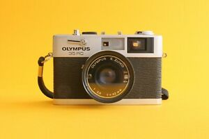 Olympus 35RC w/ Zuiko 42mm f2.8 lens   Serviced and film tested, VG condition