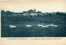 Carte SAINT LAURENT EN BRIONNAIS Vue générale Boeufs Gras du Charollais