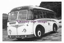 ab0054 - Black & White Coach Bus - PAD 187 to Ilfracombe - photograph