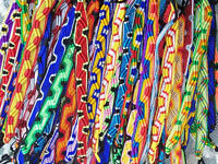 "#3592 Bracelet Handcrafted in Peru 8"" 50 Pack Assorted Artisan Made Wholesale"