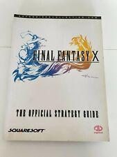 Final Fantasy X (10) Official Strategy Guide Walkthrough / Piggyback