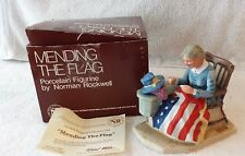 "Norman Rockwell Collectors Club 1982 ""Mending the Flag"" Figurine"