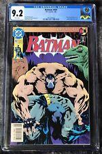 Batman #497 (D.C. Comics, 7/93) CGC Graded 9.2