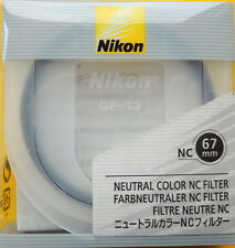 Nikon 67mm NC Neutral Color Filter as L37C  Genuine
