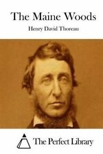The Maine Woods by Thoreau, Henry David -Paperback